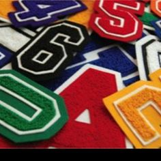 Custom wholesale chenille patches @ varsityjackets09.com