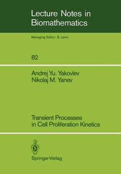 Transient Processes in Cell Proliferation Kinetics