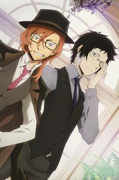Chuuya and Akutagawa