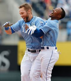 Alex Gordon & Jarrod Dyson - Kansas City Royals