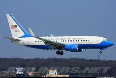 USA - Air Force 01-0040 Boeing C-40B BBJ (737-7CP) aircraft picture