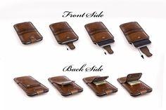 iPhone 6/6s Leather Case. Zorgvuldig handgemaakt in door Odorizzi