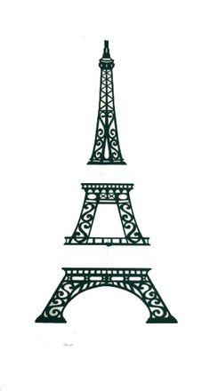 Create, Believe, Imagine at Dreamscrapbooks: Effiel Tower Free Cutting File