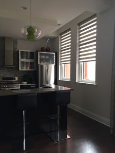 The Allure window treatment is the finishing touch to this fantastic Condo!