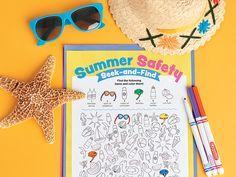 Printables: Summer Safety Seek-and-Find | Scholastic.com
