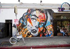 Marvelous murals abound on Los Angeles' streets. (Image: Matt Marriott)