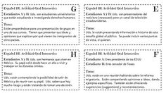IB/AP Spanish: Cuestiones globales/Desafos mundiales - Inmigracin - SimulacinI used this role-play activity as one of the interactive speaking activities for the Internal Assessment.This is a PDF that contains 8 different task cards for students working in groups of 2 or 3.