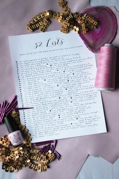 52 Lists, Week 6 // List the Ways In Which You Can Love Others