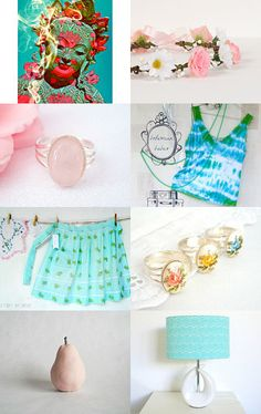 Spring is in the air by Julie Smith on Etsy--Pinned with TreasuryPin.com