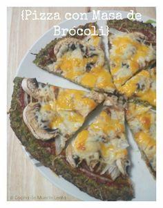 Cómo preparar una deliciosa Pizza con Masa de Brócoli o Coliflor