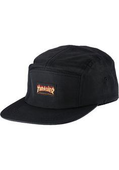 Thrasher Flame-Logo-5-Panel-Hat - titus-shop.com #Cap #AccessoriesFemale #titus #titusskateshop
