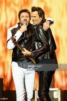 Duran Duran perfome onstage during day 2 of Bestival at Robin Hill Country Park, on September 11, 2015, in Newport, Isle of Wight