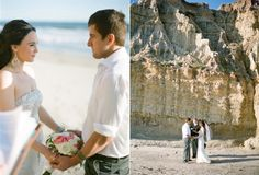 Oh to say vows on the beach... what a wonderful thing for just the two of you.
