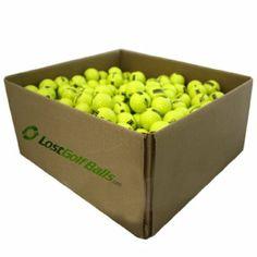 25 Dozen NEW Softcore Yellow Black Driving Range Golf Balls (1 Case) by d09c96308