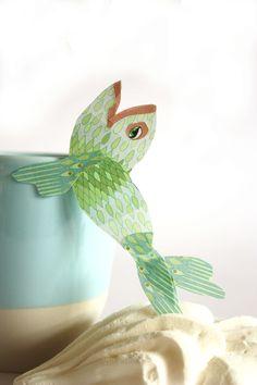 The tea you gave me, makes me sing like a diva. Hope you have some earplugs. :-) Design: Angeliek Caelen
