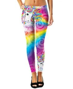 Epic Gurl Majesty Swirls Leggings