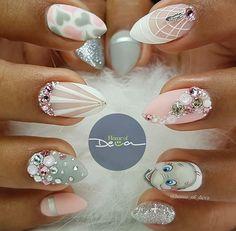 Baby nail ideas dumbo nails