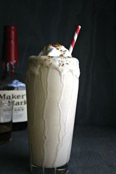Biscoff and Bourbon Milkshake | 26 Boozy Milkshakes That Know How To Party Yes, it's from BuzzFeed, but some of these look pretty good.
