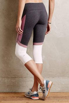Curved Colorblock Tights - anthropologie.com #anthrofave