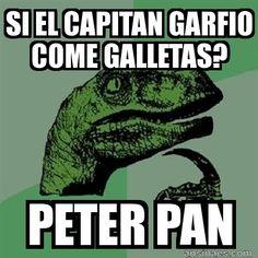 Chistes Cortos - Si el capitán Garfio come galletas?