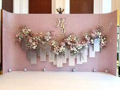 Wedding stage backdrop, stage backdrops, wedding events, diy wedding, w Wedding Stage Backdrop, Wedding Backdrop Design, Wedding Stage Decorations, Backdrop Decorations, Ceremony Backdrop, Wedding Themes, Wedding Designs, Wedding Events, Wedding Backdrops