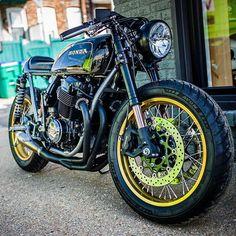 Stunning wheels @anaktulakang . . . #caferacer #hondacb #honda #motorcycle #style #beautiful #mcm #hondacafe #hondacaferacer #hot #vintage #engine #instagood #photooftheday #fashion #bestoftheday #swag #fitness #goals #ootd #instapic #travel #gb500...