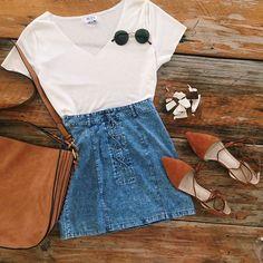 My perfect Thursday outfit! Lucy Top $45 Gerri skirt $49 WWW.MURABOUTIQUE.COM.AU #muraboutique