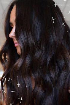Dark Brown Hair Rich, Purple Brown Hair, Highlights For Dark Brown Hair, Brown Hair Balayage, Brown Hair Colors, Deep Burgandy Hair Color, Reddish Hair Color, Dark Brown Hair With Low Lights, Mahogany Brown Hair Color