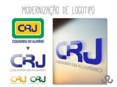 Identidade visual CRJ Esquadrias em Alumínio. Modernização de logotipo por Tudo Marketing. A CRJ oferece a melhor qualidade disponível no mercado brasileiro, atuando em parceria com construtoras, arquitetos, designers e engenheiros em projetos inovadores e personalizados. #MarketingOnLine #MarketingOnLine #IdentidadeVisual #EsquadriasEmAluminio #CRJEsquadrias #Portfolio #TudoMarketing #TudoMkt
