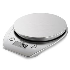 Smart Weigh Multifunction Digital Kitchen and Food Scale with Stainless Steel Platform, Large LCD Display and Six Weighing Modes, 11lb/5kg x 1g/0.1oz , Silver *** Don't get left behind, see this great  product : Kitchen Utensils and Gadgets
