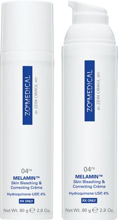 ZO Medical Melamin.  Skin Bleaching & Correcting Creme with 4% Hydroquinone.