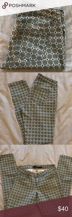 """Harpers Patterned Skinny Jean Francesca's Harpers patterned skinny jean from Francesca's. Size 26. Worn only a few times. Inseam 30"""" Francesca's Collections Jeans Skinny"""