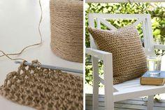 crochet with garden string | Visit taradennis.com