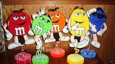 M Character Table Decorations
