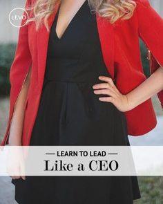 Lead like a CEO >> #Leadership Skills
