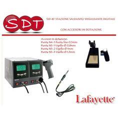 SSD-87 STAZIONE SALDANTE/ DISSALDANTE DIGITALE CON ACCESSORI IN DOTAZIONE