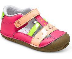 Stride Rite SRT SM Lynden soft motion pink multi sandal