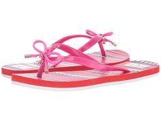 5f9cce103420 Kate Spade New York Nova Flip Flop Sandals Pink Oxaca Print at Zappos Luxury