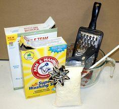 DIY Homemade Laundry Detergent + Liquid Soap Recipes