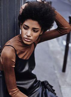 "midnight-charm: ""Chanel De Leon Gomez photographed by Nil Hoppenot for Models.com Stylist: Anne Catherine Frey Hair & Makeup: Sarah Atallah """