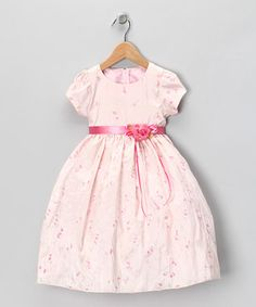 Pink Ribbon Dress - Infant, Toddler & Girls