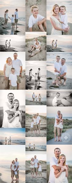 Family beach photography ideas, poses and inspiration for family portrait sessions at the beach by Virginia Beach Photographer Melissa Bliss Photography