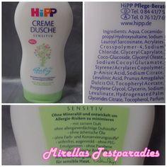 Die Creme Dusche aus der Babysanft-Reihe von HiPP.