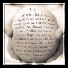 My Wish For You Print Friendship Print Inspirational Art Print Best Friend Print Gift for Her Typography Print My Wish Poems & Quotes The Words, My Wish For You, Wishes For You, Wishes For Baby, Birthday Greetings, Happy Birthday Wishes For Her, Birthday Poems, Grandson Birthday Wishes, Happy Birthday Wishes Friendship
