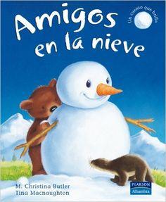 Amigos en la nieve (Álbumes Ilustrados): Amazon.es: M. Christina Butler: Libros