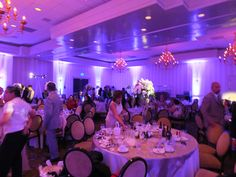 It was a pleasure to work for this special #quienceanera. It was one of the nicest events we have ever worked! #choice1ent #purple #uplighting #Pinspots