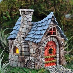 Factors to Consider in Fairy Garden Accessories : Fairy Garden Houses And Accessories. Fairy garden houses and accessories. Miniature Fairy Gardens, Miniature Houses, Miniature Dollhouse, Mini Gardens, Miniature Fairies, Mini Houses, Polymer Clay Fairy, Fairy Village, Village Houses