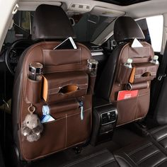 Back Car Seat Organizer Holder Multi-Pocket Travel Storage Under Armour Shoes Mens, Basketball Bedding, Car Seat Organizer, Baby Diaper Bags, Back Seat, Organizers, Bag Storage, Car Seats, Organization