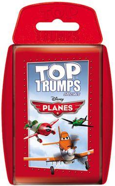 TOP TRUMPS Disney Planes #toptrumps #disney #planes