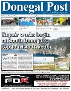 Donegal Post 20 August 2014 edition - Read the digital edition by Magzter on your iPad, iPhone, Android, Tablet Devices, Windows 8, PC, Mac and the Web.